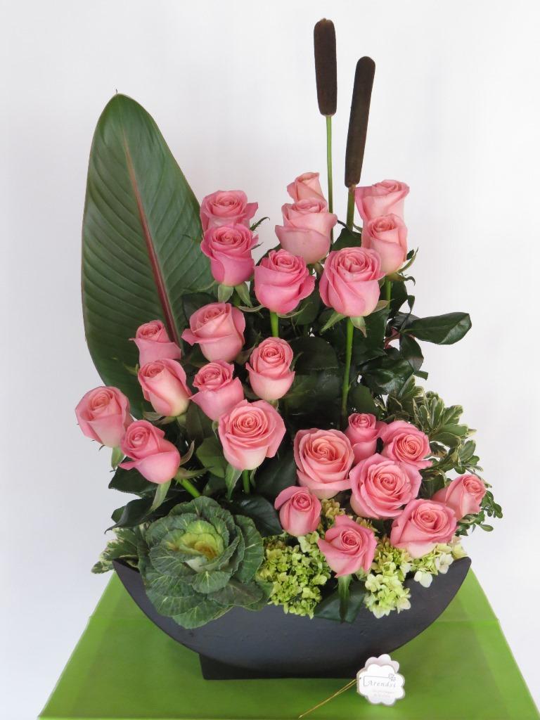 Arreglo Con Rosas Rosas Sweet De Rosasmodelo 491 Arendsi